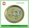 Tin Can Lid Easy Open End