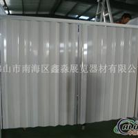 广交会展位折叠门铝合金生产