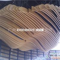 弧形木纹铝方通生产厂家