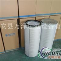 萬澤3290工業制氧車間除塵濾筒