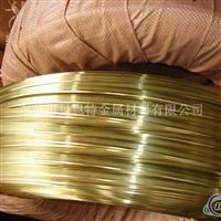 H65黃銅拉鏈扁線