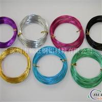 环保1060氧化金色铝线,彩色铝线