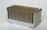大量生产加工电子散热器铝型材