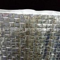供应铝箔编织布隔热材 双面铝箔+编织布 反射高温 隔热效果极好