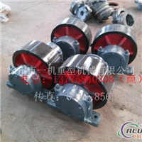鋁屑回轉式滾筒烘干機托輪裝配