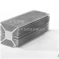 供应实心方型铝型材散热器
