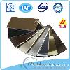 Electroporesis Aluminum Samples, Different Colors