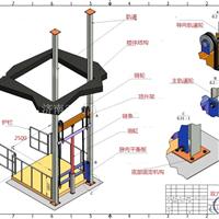 3吨升降货梯 液压升降货梯结构