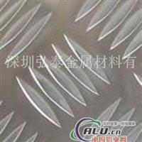 国标大五条筋铝板 车间防滑铝板