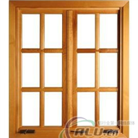 木紋轉印鋁系列門窗