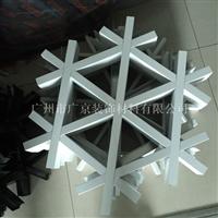供应型材三角形铝格栅 六角形铝格栅吊顶