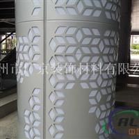 供应雕刻铝单板包柱装饰铝单板包柱厂家