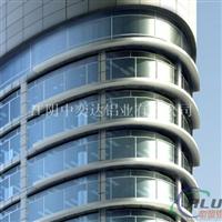 供应年夜型铝合金幕墙型材中奕达铝业