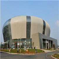 体育馆外墙装饰 金属幕墙铝单板价格