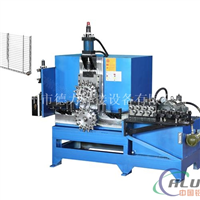 厂家供应 全自动液压式金属丝波浪线成型机