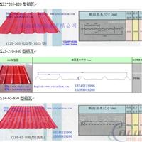 1.0mm厚度铝瓦价格屋面系统用的铝瓦楞板