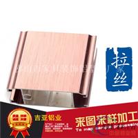 电泳拉丝铝门型材生产厂