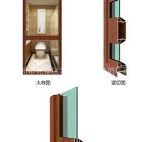 批发隔热门窗铝材建筑铝合金型材