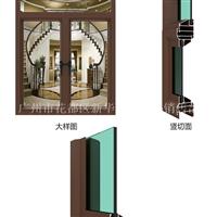 50系列优质隔热铝合金平开门窗