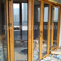 铝木复合门窗,铝木复合折叠门