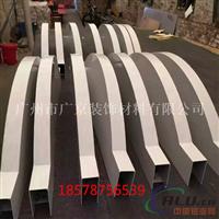 弧形铝方通定制天花 造型铝方通厂家