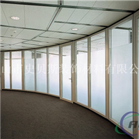 玻璃隔墙铝型材