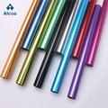 6063表面光亮铝管 氧化国标6063T5铝管