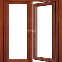 专注铝木复合推拉门窗 复合异型门窗定制