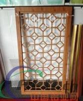铝窗花防护栏、铝窗花成本、铝窗花订做