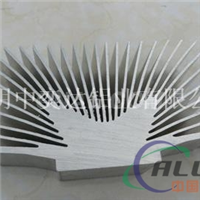 高难度散热器铝型材厂家中奕达18961616383