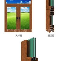 高档别墅铝合金门窗型材批发