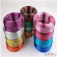 浙江厂家5754彩色氧化铝线 装饰灯饰用铝线