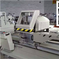 断桥铝型材双头精密切割锯床,型材切割机