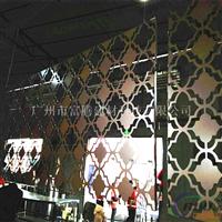 镂空铝窗花 木纹铝雕花 雕花吊顶