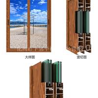 断桥隔热铝合金门窗型材批发