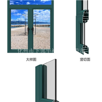 批发断桥隔热铝型材门窗铝型材