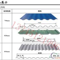 防锈铝合金铝瓦楞板