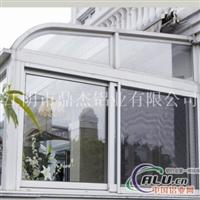 专业生产加工阳光房铝型材