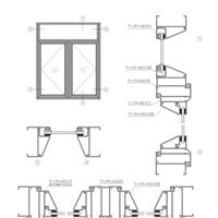 A50平开窗铝型材