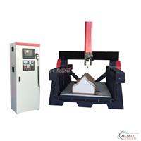 双曲铝板木模机镌刻机铝塑板切割机