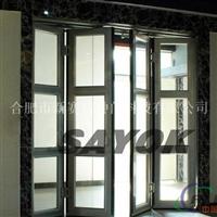 铝型材电动折叠门