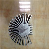 电机外壳 工业散热器 铝型材 太阳花散热器