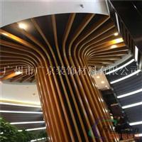 木纹型材铝方管,餐厅立柱铝方管