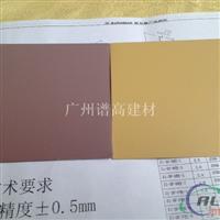 供应谱高聚酯粉末喷涂铝扣板