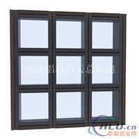 玻璃幕墙铝合金型材批发