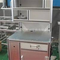 精密机器操控框架,铝型材架子,铝合金产品柜,铝合金操作台,工业车间专用工作台,小型设备放置台