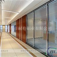高隔间铝材办公隔音隔断玻璃隔断