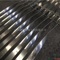 扭曲板厂定做各种扭曲隔断铝板