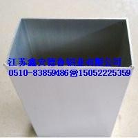 6061无缝铝管 铝合金方管