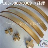 云南室外弧形木纹铝方通厂家订做